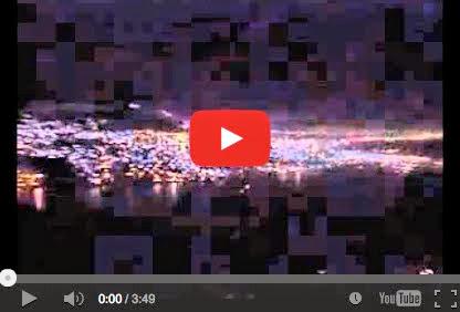 Τα φώτα της Αρτέμιδας χορευόυν με μουσική - The lights of Artemis dancing with music