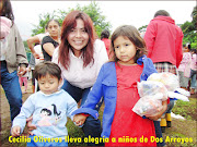 . continúa llevando alegría a niños de distintas partes del municipio