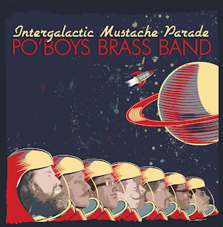 The music that started a revolution in space. . .  with mustaches... in space.