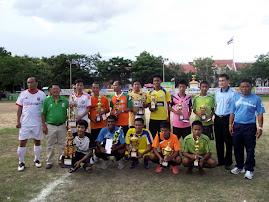 การแข่งขัน ฟุตบอล 7 คน เยาวชน,ประชาชนต้านยาเสพติดประจำปี55 ณ สนามหน้าศาลากลาง