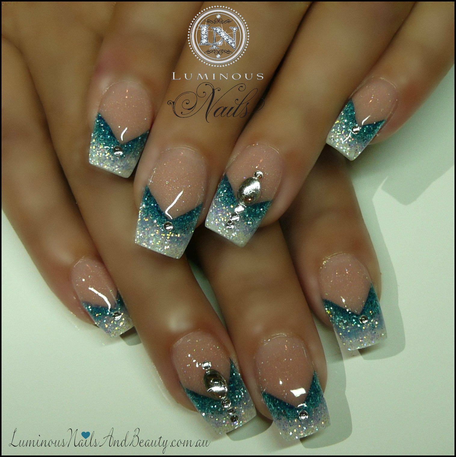Oval nail designs long hairstyles for Acrylic nails salon brisbane