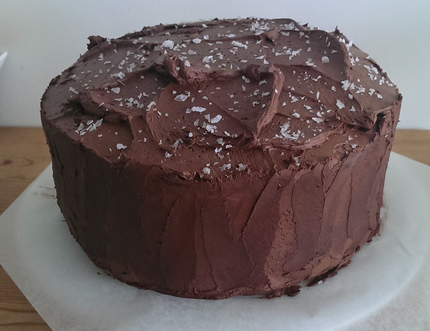 ... For Food: Martha Stewart's Salted Caramel Six-Layer Chocolate Cake