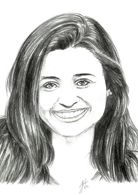 A Jovem feliz, ilustração - D3s3nh4nd0