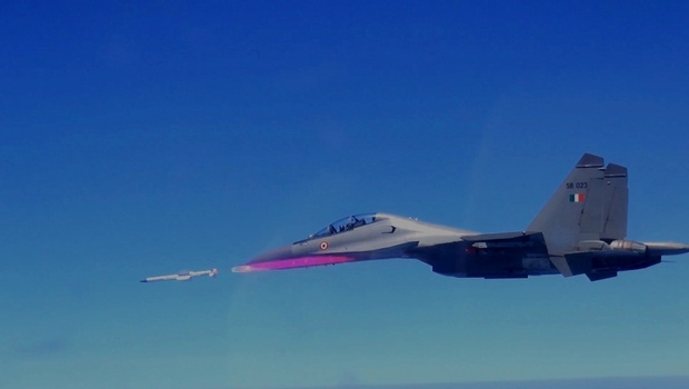 Astra missile launch