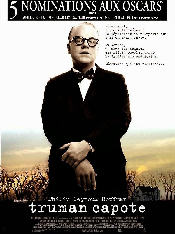 Affiche française de Truman Capote, de Bennett Miller (2005)