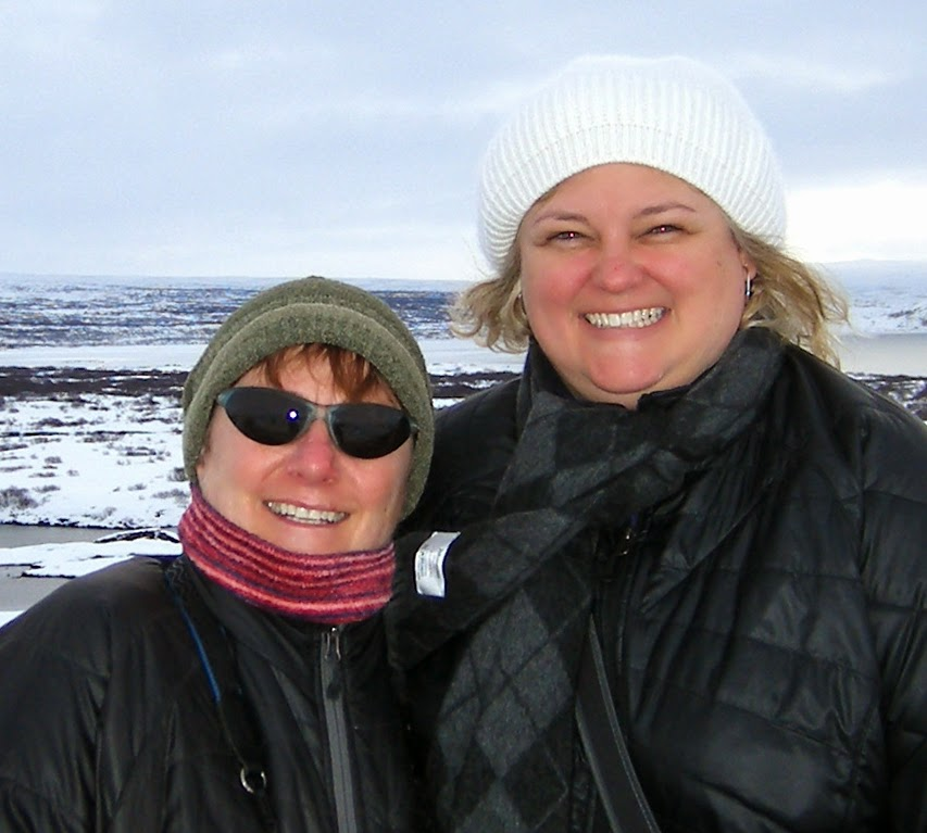 Kristina Jille Vacation in Iceland - Patricia Stimac, Seattle Wedding Officiant