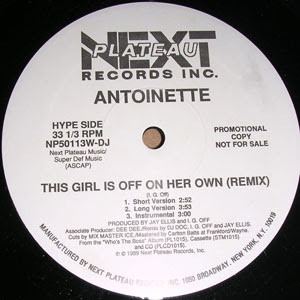 Antoinette ‎– This Girl Is Off On Her Own (Remix) / I'm Crying (VLS) (1989) (256 kbps)