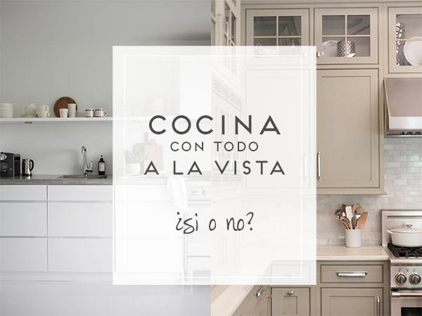 Cocinas practicas decorar tu casa es - Baldas para cocina ...