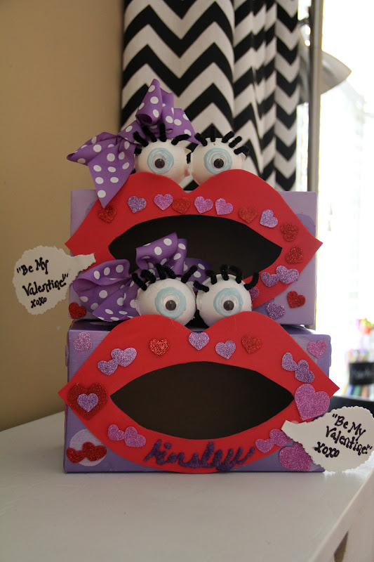 tuesday february 7 2012 - Valentine Boxes For Girls