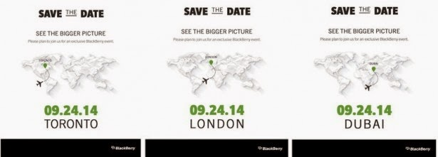 """La compañía anunció un evento de prensa a realizarse de forma simultánea en tres ciudades. Sería el escenario del anuncio oficial del teléfono """"Passport"""" Después de un par de meses de pausa, el mercado de la telefonía está tomando fuerza, centrando gran parte de sus anuncios en septiembre. Mañana veremos nuevos estrenos de Samsung y Sony, el jueves será el turno de Motorola y Nokia, mientras que el martes llegará el nuevo iPhone y el 15 de septiembre algún anuncio de Google en India. Pero ahora hay que sumar otro participante: BlackBerry. La compañía canadiense anunció un evento simultáneo en"""