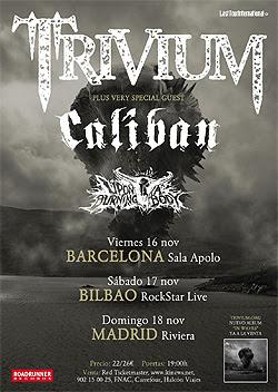 conciertos de Trivium