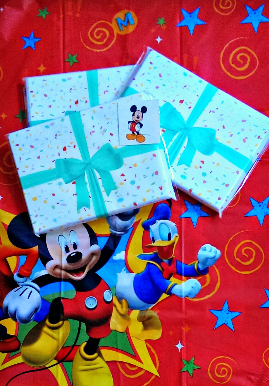 DisneySide party invitations with HP photo paper