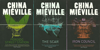China Mieville - the Bas-Lag trilogy