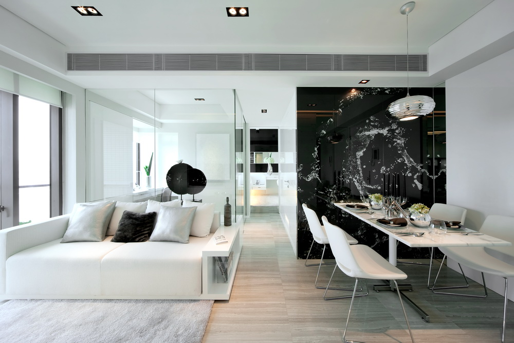 P t sz bels p t sz blog minimalist interior design in black and white from beige design for Black and white interior design