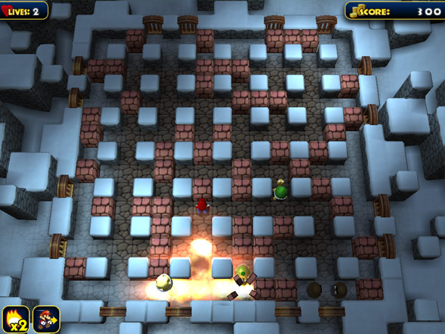 Bomber Mario Bomberman game