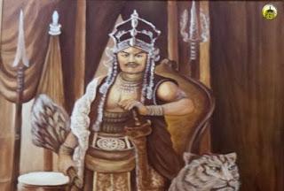 Misteri lukisan Prabu Siliwangi....!!!