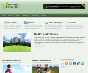 HealthCase WordPress Theme