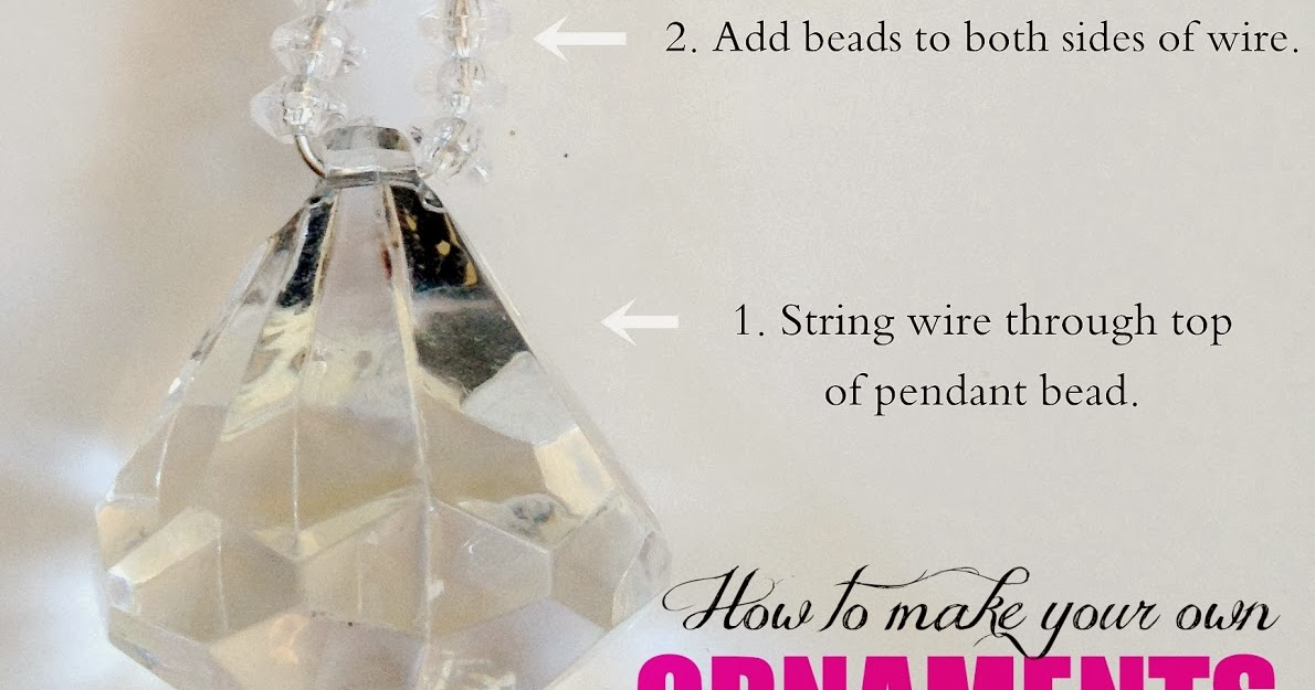LiveLoveDIY: How To Make Your Own Christmas Ornaments (Part 3)