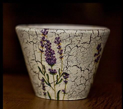 Relas come decorare un vaso con decoupage - Decorare vasi di vetro ...