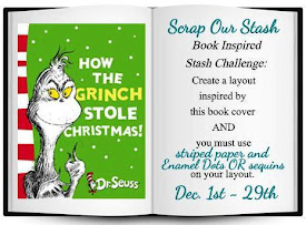 December Book Inspired Stash Challenge