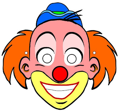 Palhaços Mascara-palhaco-colorida-imprimir