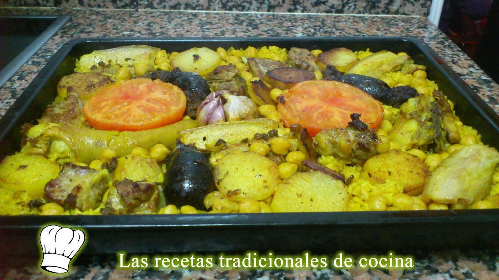 Receta de arroz al horno recetas de cocina con sabor - Receta bogavante al horno ...