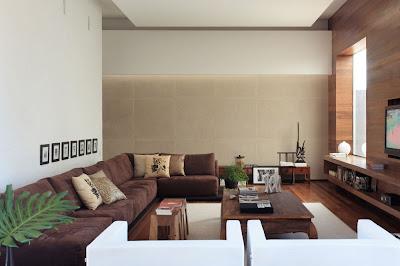 moderno diseño de sala grande