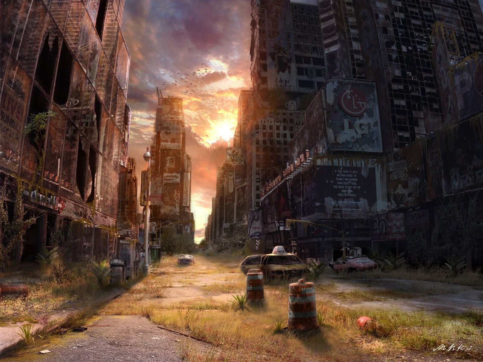 apocalyptic city wallpaper - photo #18