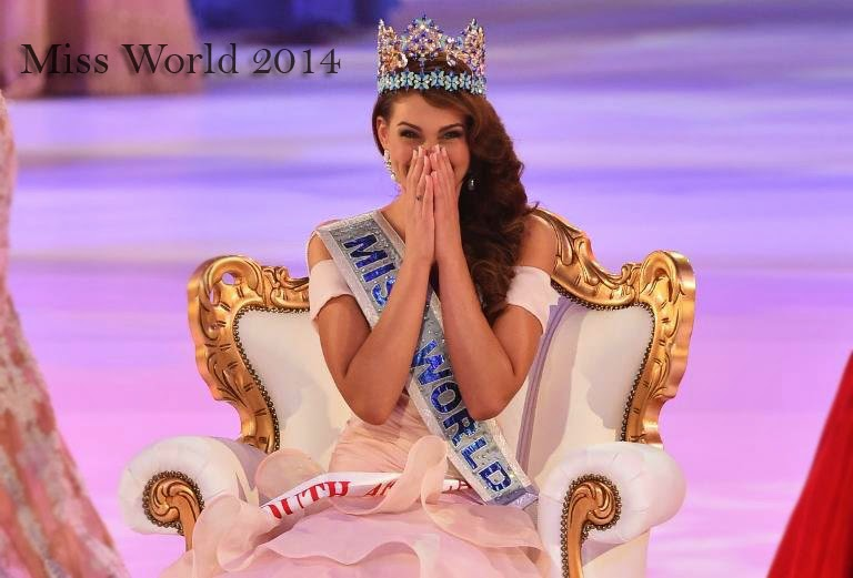 Watch Replay Results, Photos and Videos Miss World 2014 is Rolene Strauss of South Africa