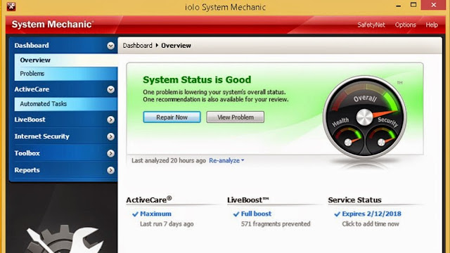 iolo System Mechanic 14.5 Free Download with serial