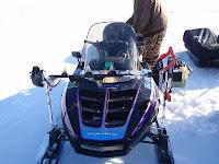 Snowmobile Auger Rack2