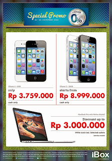 Promo iPhone 4, iPhone 5 & MacBook Pro