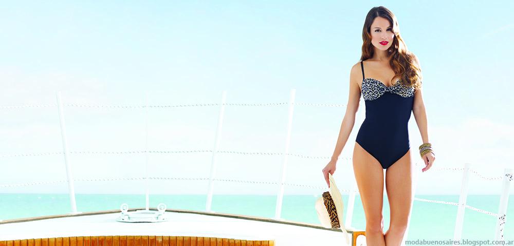 Mallas y bikinis verano 2015 Ailyke. Mallas 2015. Bikinis 2015. Moda verano 2015.
