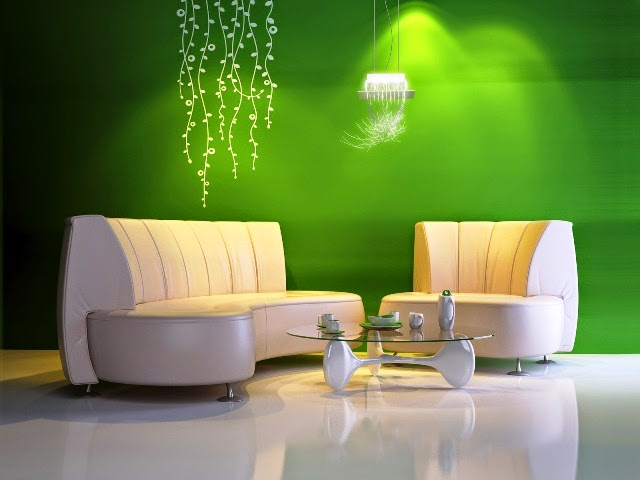 Wall paint colors green for home for Home wall paint colour