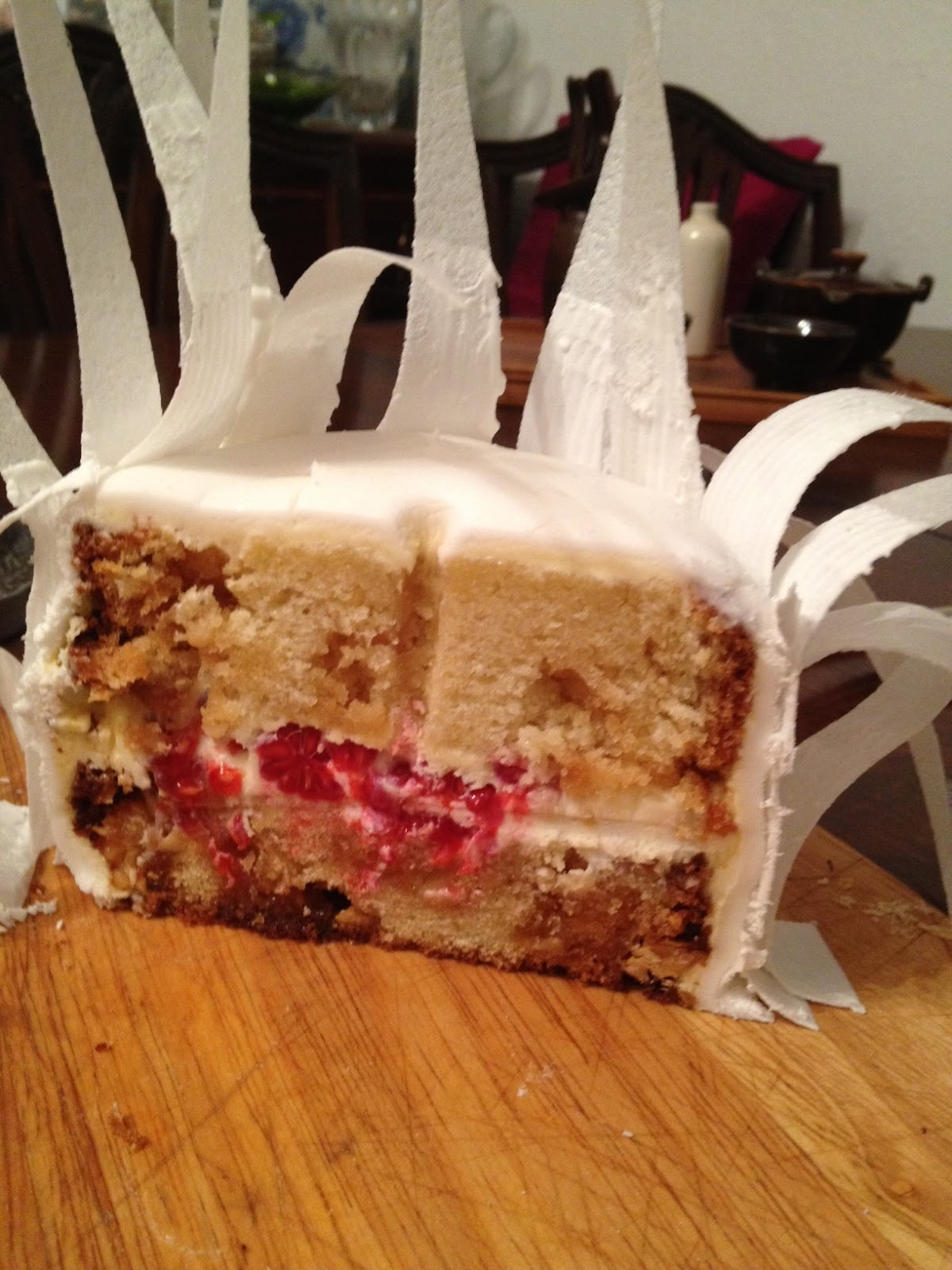 21st Birthday Feather Cake  pauaprincess