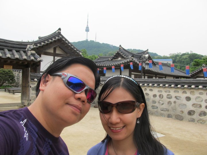 South Korea Seoul Namsan Hanok Village