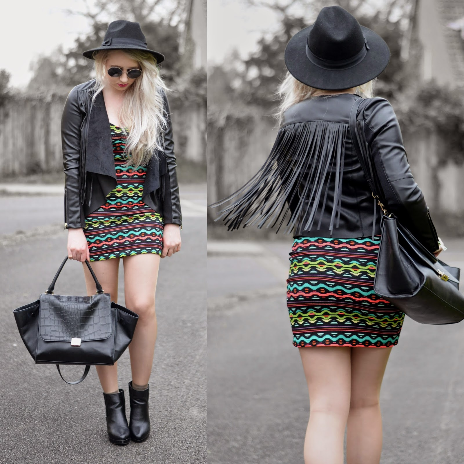 Sammi Jackson - Festival Looks - H&M Loves Coachella Dress