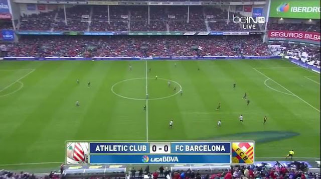 Full match: La Liga - Athletic Bilbao vs Barcelona 27/04/2013