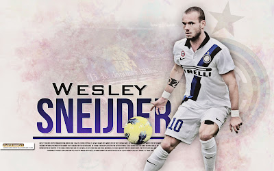 Wallpapers Wesley Sneijder Inter Milan 2012-2013
