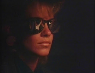 catherine mary stewart as Miranda Dorlac nightflyers 1987 eighties 80s glasses