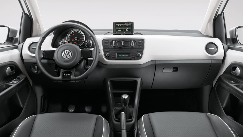 Volkswagen White-up! - painel