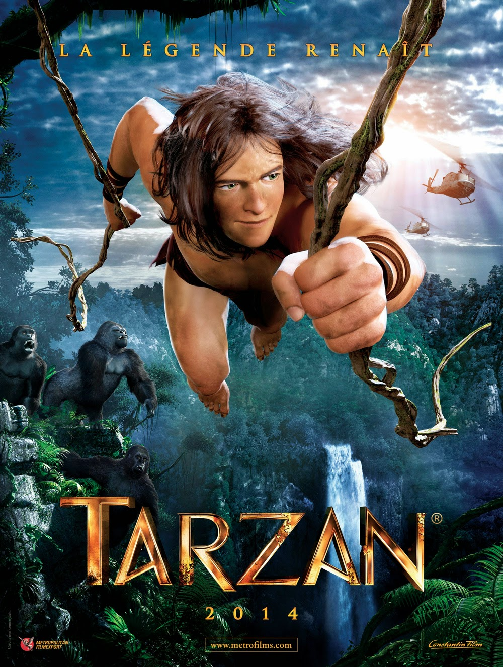 Tarzan has been adapted into many TV series (cartoon or mini-series