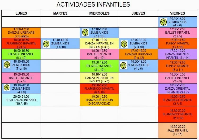 ACTIVIDADES INFATILES