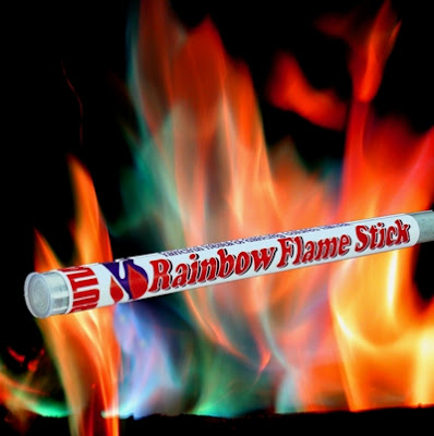 Rainbow Flame Stick