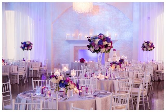 purple wedding, newport wedding
