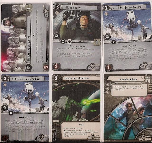 Expansión Star Wars LCG: Ciclo de Hoth - Asalto a la base Eco El imperativo del general