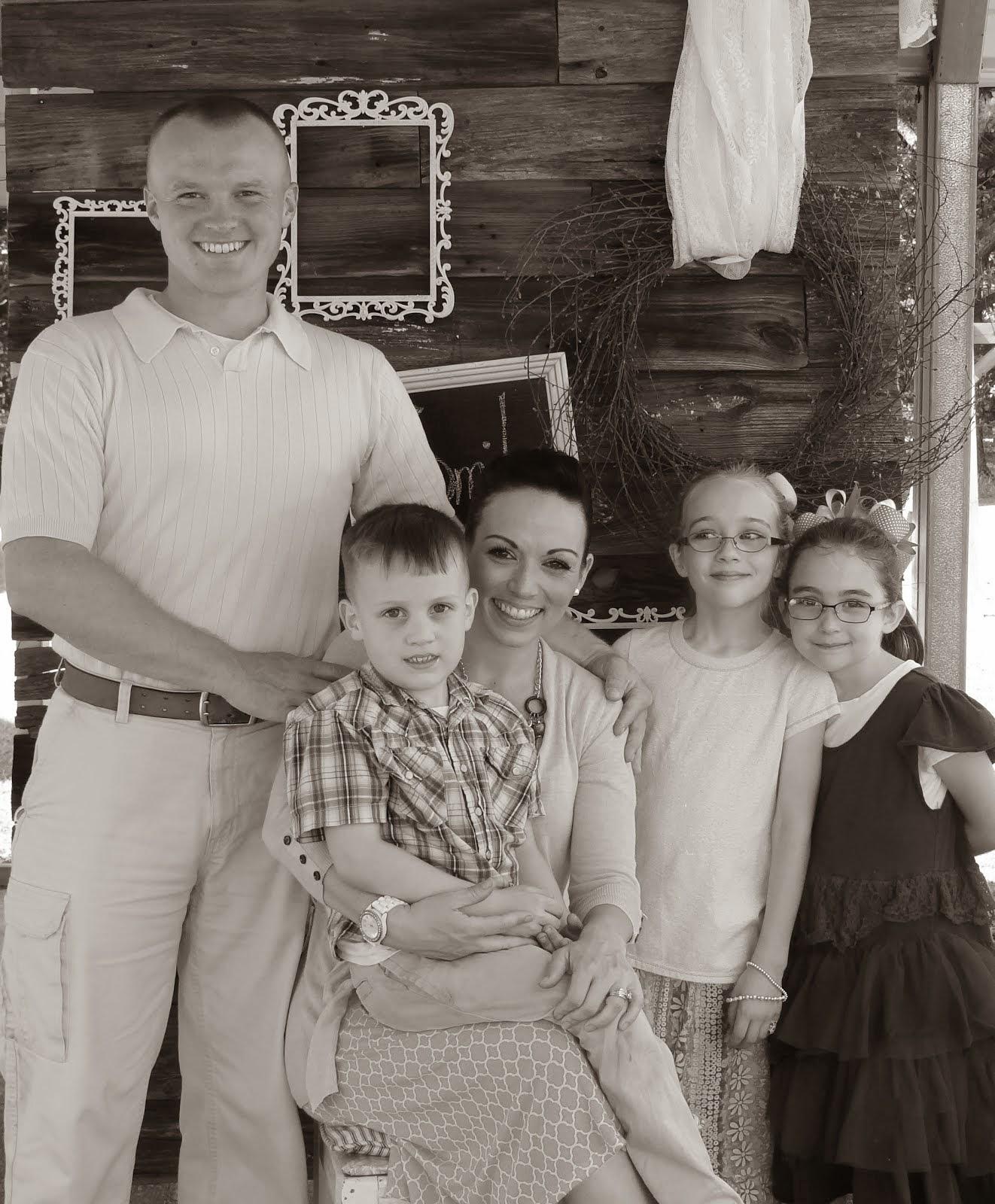My sweet little family....
