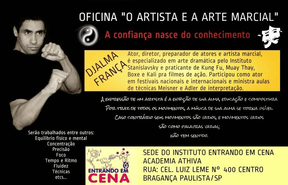 Oficina O  Artista e a Arte Marcial