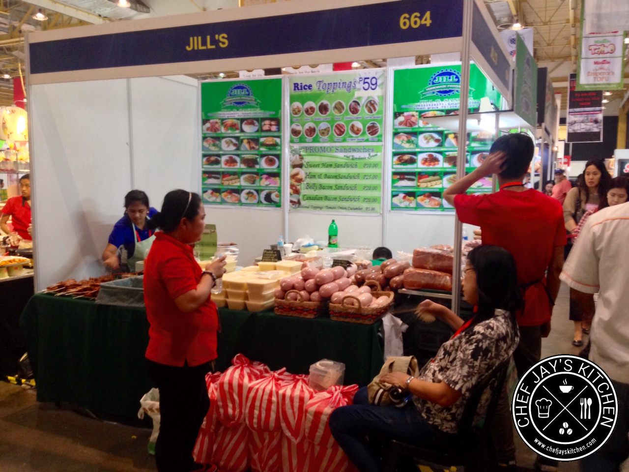 Amazing finds in wofex 2015 world trade center for V kitchen philippines
