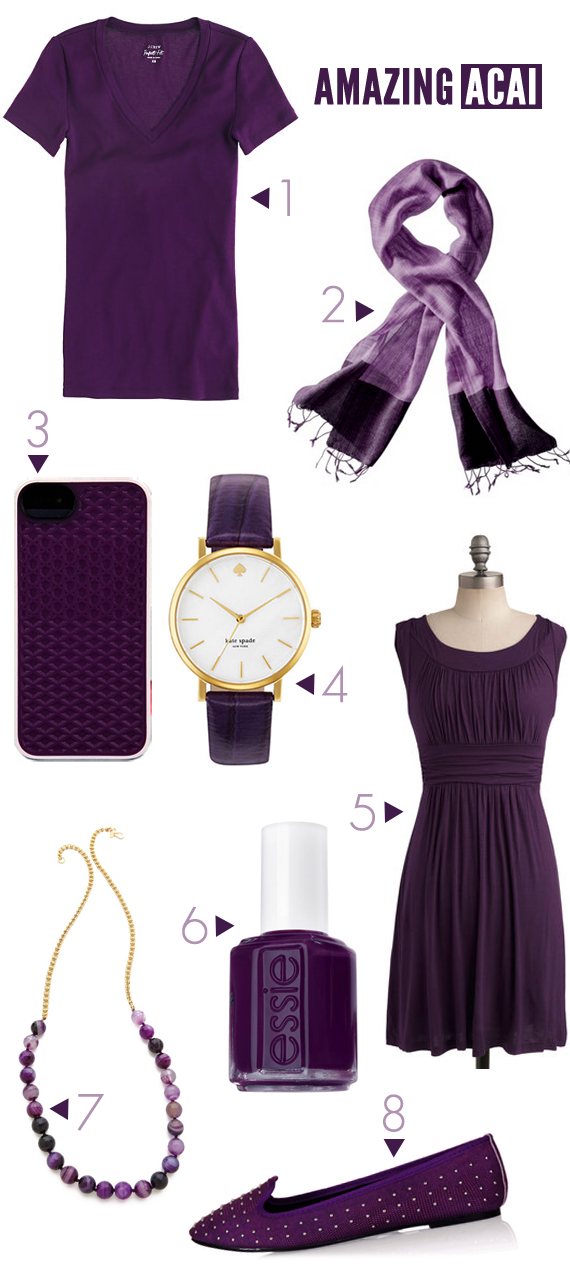 Pantone Acai for Fall 2013 // Bubby and Bean